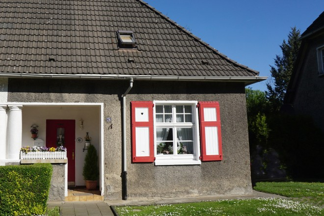 Foto: Typisches Einfamilienhaus, Vorderansicht