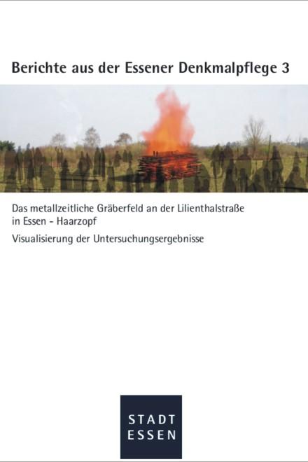 Abbildung: Titelblatt, Berichte aus der Essener Denkmalpflege 3
