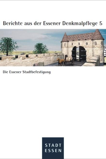 Visualisierung der Essener Stadtbefestigung