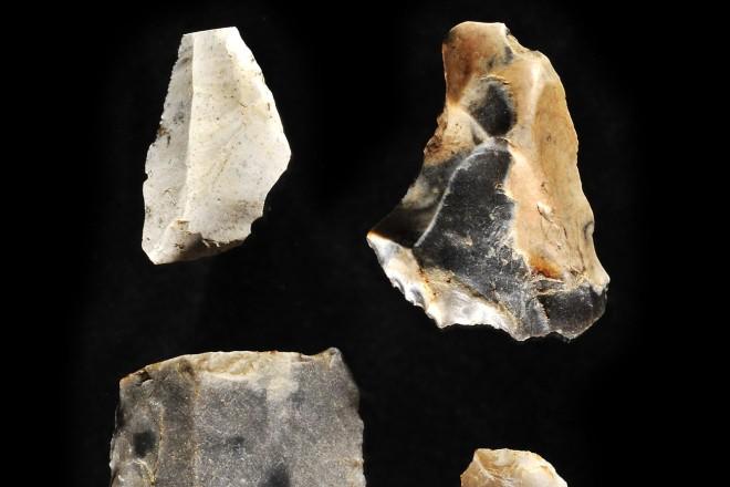 Foto: Steinzeitliche Funde aus Rellinghausen