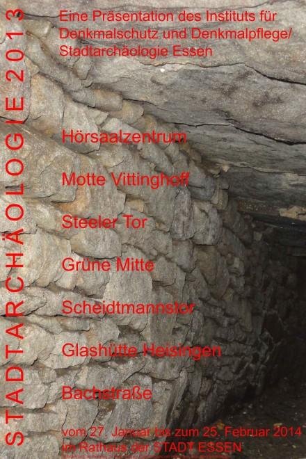 Abbildung: Plakat der Ausstellung (Gestaltung: D. Hopp)