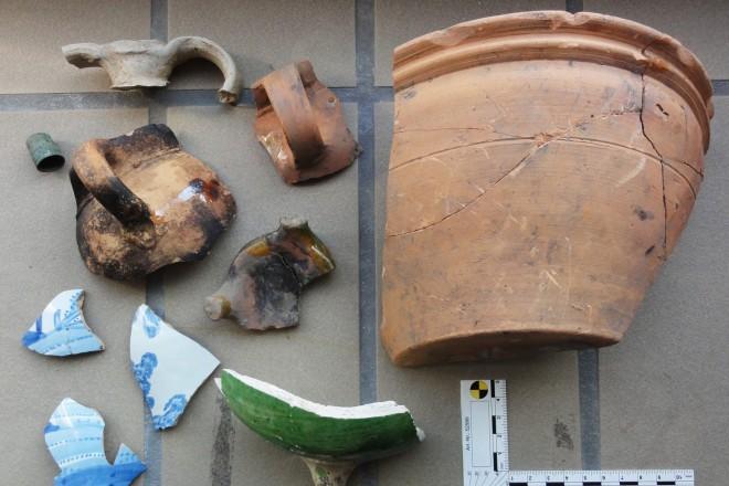 Foto: Funde aus der Untersuchung