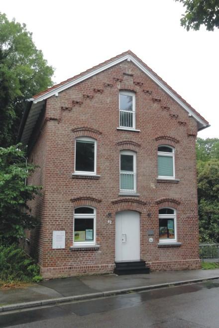 Foto: Blick auf das heutige Gebäude