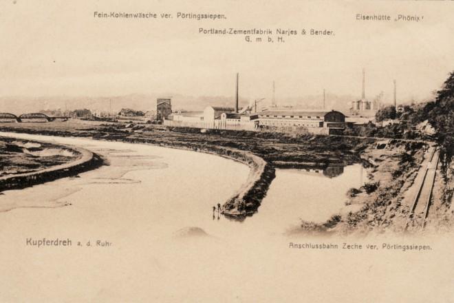 Abbildung: Der Hafen um 1900