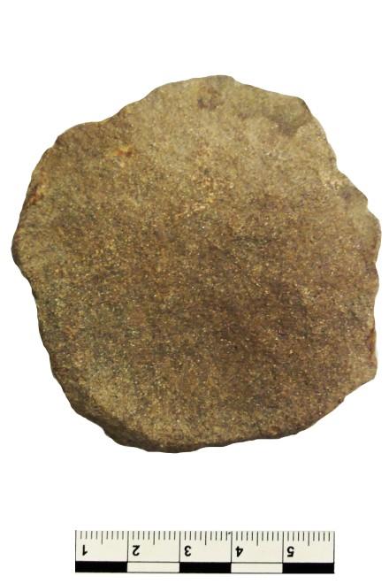 Foto: 2017 in Fischlaken entdeckte Steinscheibe