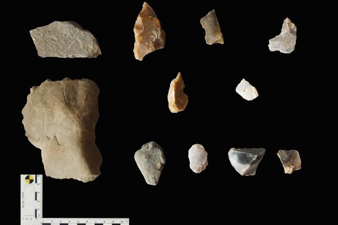 Kleine Auswahl von Funden aus Fischlaken
