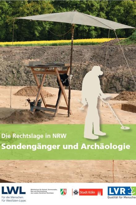 """Titelblatt """"Sondengänger und Archäologie"""""""