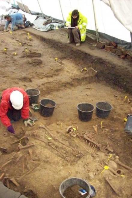 Foto: Ausgrabungsstätte