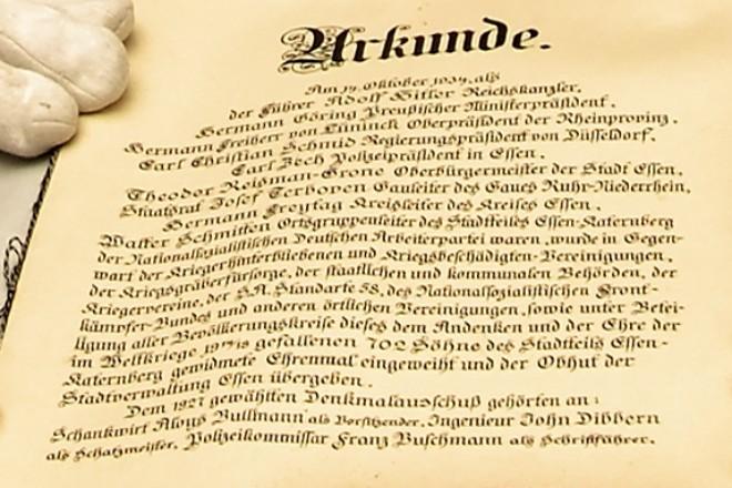 Foto: Titelseite des Urkundenbuches