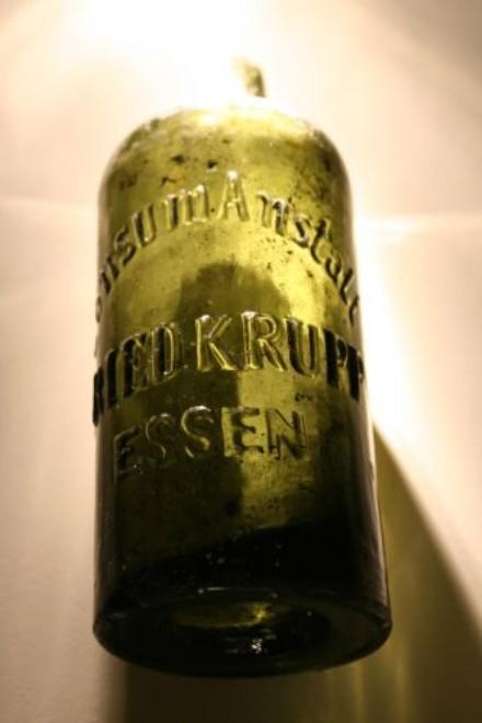 Foto: Flasche der Friedrich Krupp Konsumanstalt
