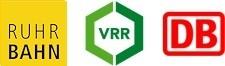 Grafik: Logo EVAG, VRR, DB