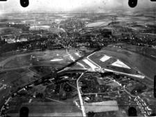 Ausschnitt Luftbild von 1926, Bereich Steele, Schrägaufnahme