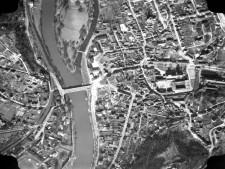Ausschnitt Luftbild von 1959, Bereich Werden