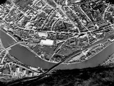 Ausschnitt Luftbild von 1978, Bereich Kettwig