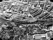 Ausschnitt Luftbild von 1981, Bereich Gruga