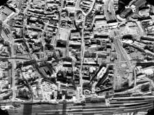 Ausschnitt Luftbild von 1984, Bereich Innenstadt