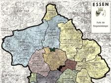 Die Karte zeigt die Eingemeindungen bis 1929