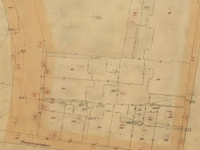 Historische Karte vom Bereich Deutshclandhaus, Hirschlandplatz