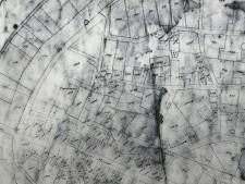 Historische Karte der südlichen Innenstadt