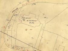 Historische Karte von Rellinghausen aus 1921
