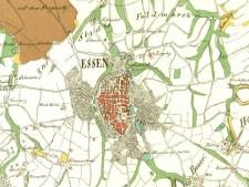Kartenausschnitt Arrondissement d'Essen 1812/13