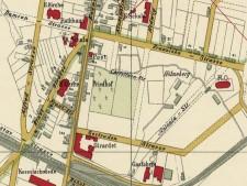 Kartenausschnitt Bürgermeisterei Rüttenscheid von 1900