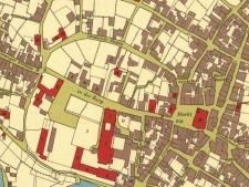 Kartenausschnitt Stadt Essen von 1823