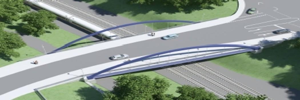 Visualisierung Brückenneubau Nünningstraße