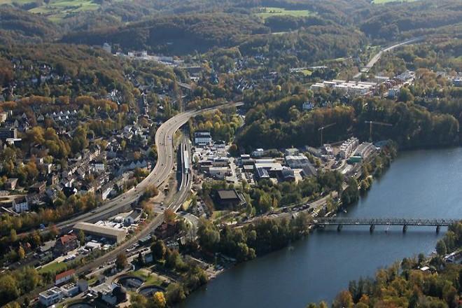Foto: Luftbildaufnahme Kupferdreh