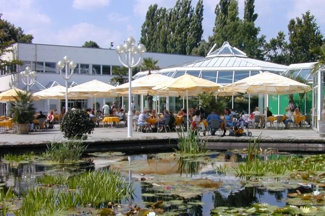 Restaurantterrasse der Orangerie
