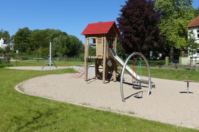 Spielplatz Walpurgistal.