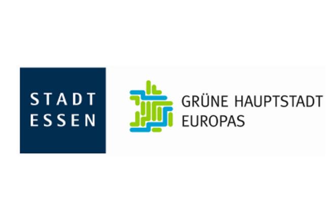 Logo Kombination 'Stadt Essen' und 'Grüne Hauptstadt Europas' als Wort-Bild-Marke