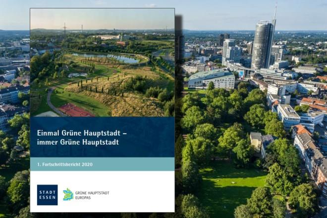 Fotomontage: Erster Fortschrittsbericht Grüne Hauptstadt Europas