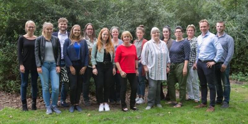 Gruppenfoto der Teilnehmerinnen und Teilnehmer des Netzwerks Nachhaltige Veranstaltungen
