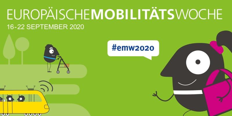 Logo der Europäischen Mobilitätswoche