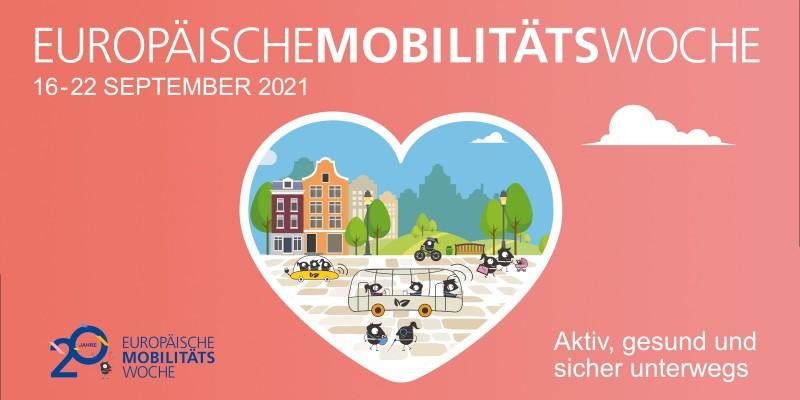Grafik: Europäische Mobilitiätswoche 2021