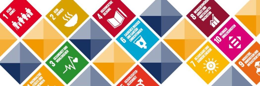 Grafische Darstellung der SDGs