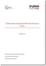 Titelseite des Endberichtes des Teilkonzeptes Integrierte Wärmenutzung in Essen
