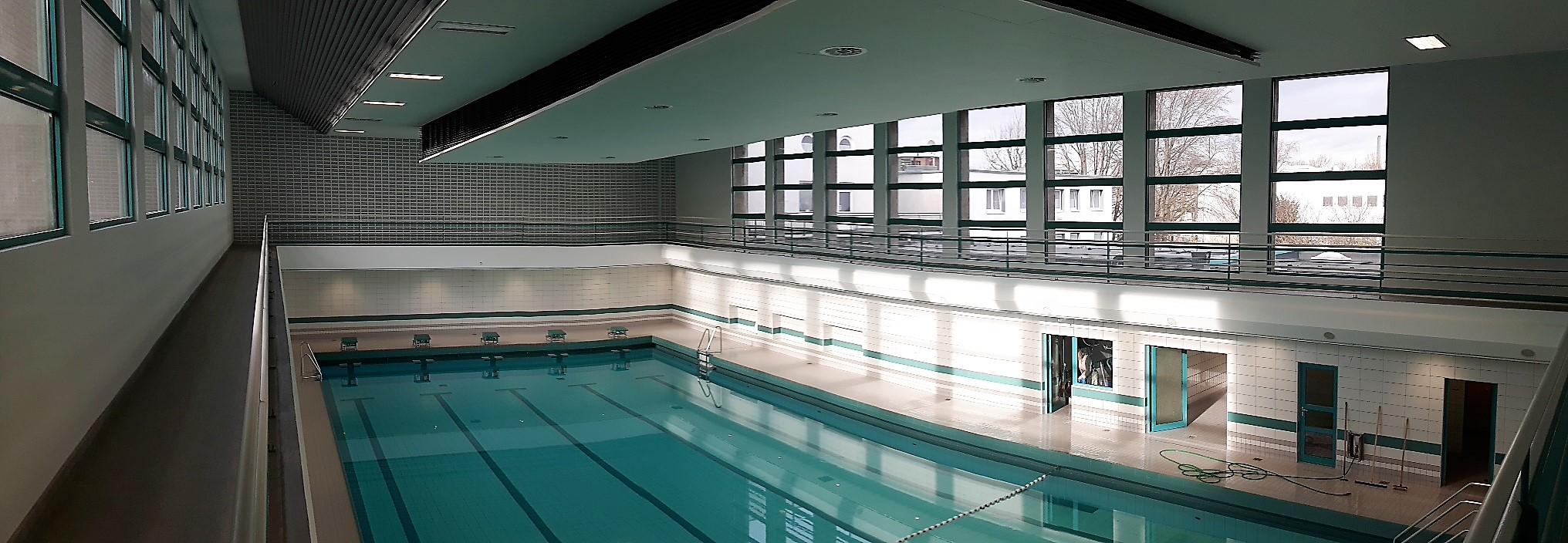 Foto: Schwimmhalle der Alten Badeanstalt