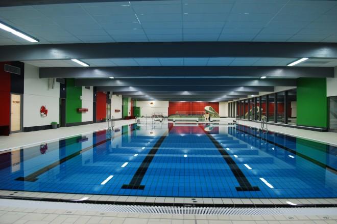 Foto: Lehrschwimmbecken im Hallenbad des Bad und Sport Oststadt