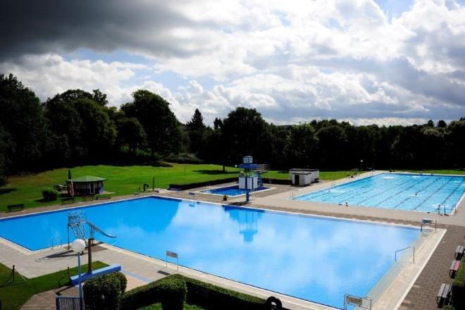 Foto: Freibad des Schwimmzentrums Kettwig