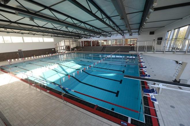 Foto: Blick auf das Schwimmerbecken