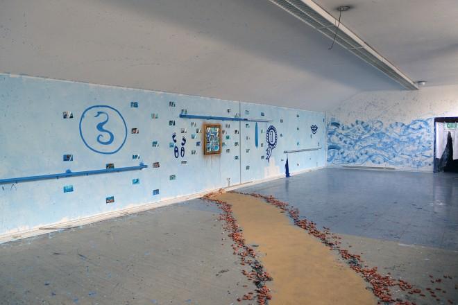 Kunstprojekt im Hauptbad