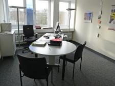 Büroraum im JobCenter Essen Mitte an der Bernestraße.