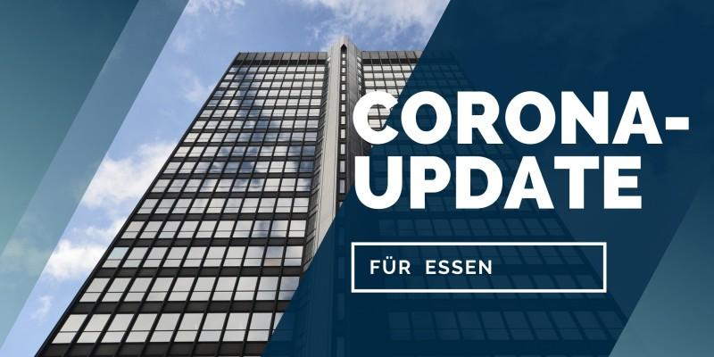 Grafik: Corona-Update für Essen