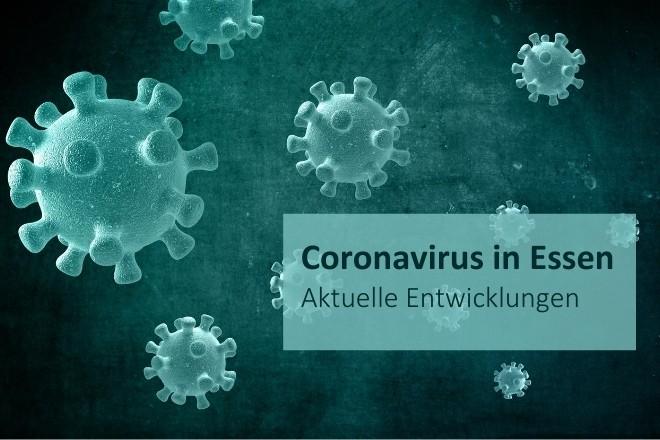 Grafik: Coronavirus in Essen: aktuelle Entwicklungen