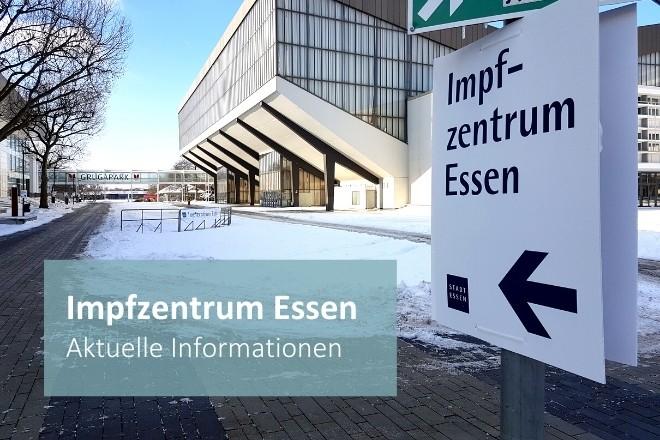 Grafik: Impfzentrum Essen: Aktuelle Informationen