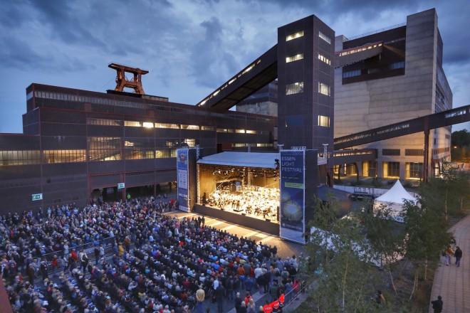 Foto: Konzert der Essener Philharmoniker zum Auftakt auf Zollverein