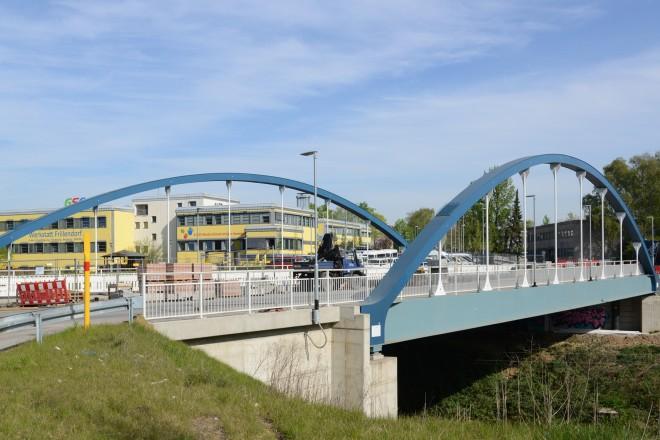 Foto: Die Nünningbrücke soll voraussichtlich Mitte Mai freigegeben werden.