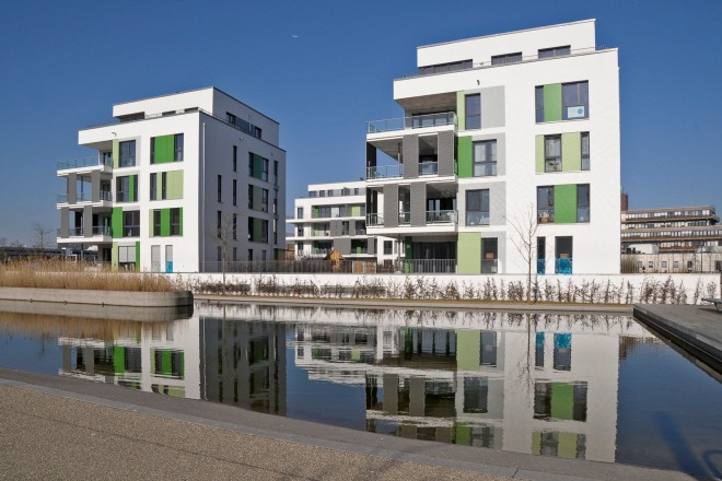 Universitätsviertel grüne mitte Essen Wohnen am Wasser